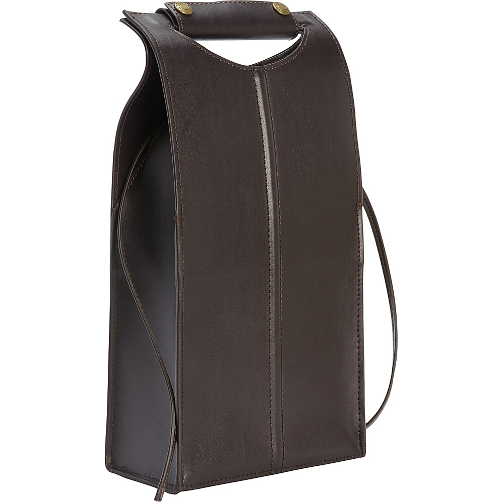Clava Leather Two Bottle Carrier Cafe Clava Outdoor Accessories