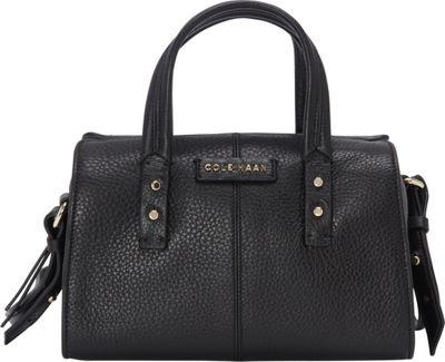 Cole Haan Emma Mini Satchel Crossbody Black - Cole Haan Designer Handbags