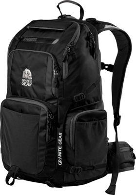 Granite Gear Jackfish Backpack Black - Granite Gear Everyday Backpacks