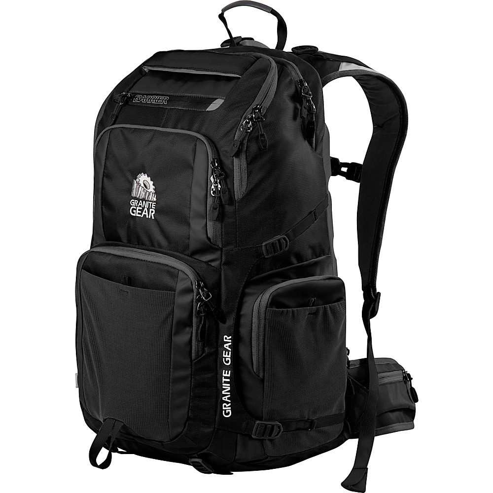 Granite Gear Jackfish Backpack Black Granite Gear Everyday Backpacks