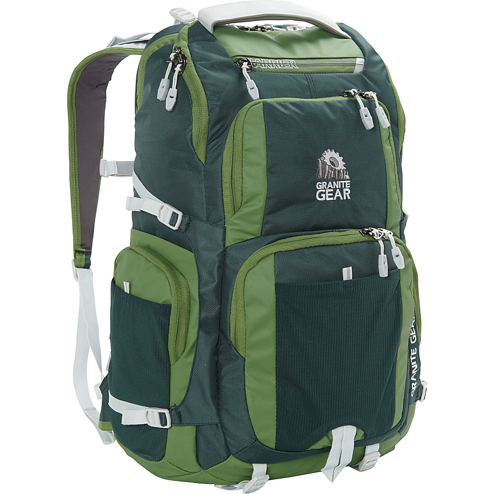 Granite Gear Jackfish Backpack BorealGreen Moss Chromium Granite Gear Everyday Backpacks