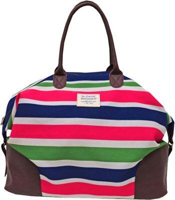 Sloane Ranger Weekender Bag Sloanie Stripe - Sloane Ranger Travel Duffels