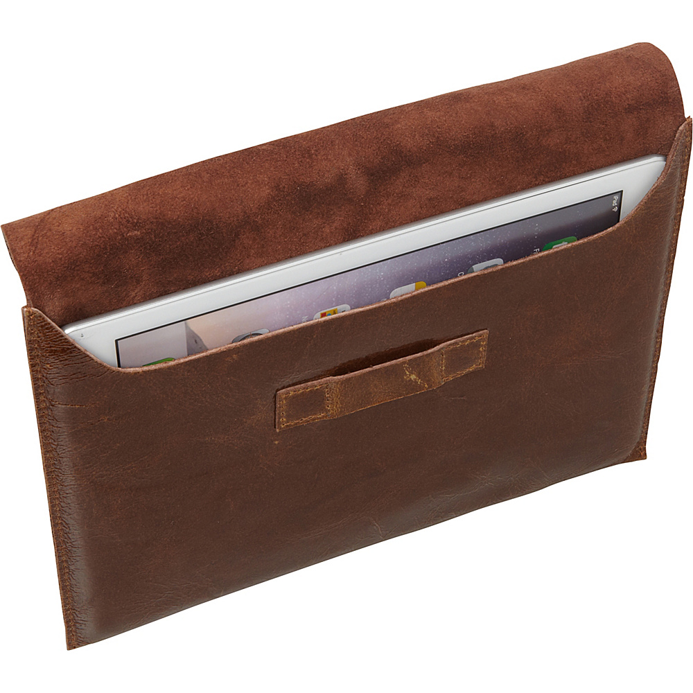 Sharo Leather Bags iPad Air Case Brown - Sharo Leather Bags Electronic Cases