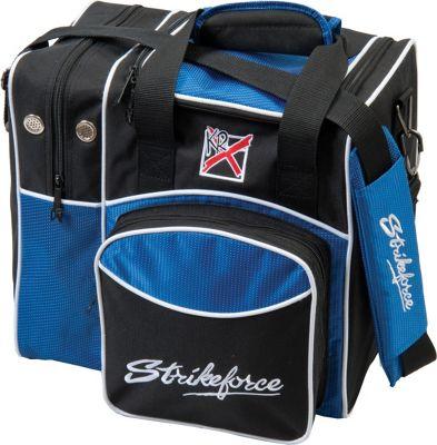 KR Strikeforce Bowling Flexx Single Bowling Ball Tote Bag Royal - KR Strikeforce Bowling Bowling Bags