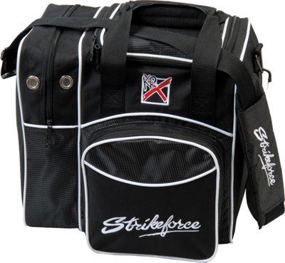 KR Strikeforce Bowling Flexx Single Bowling Ball Tote Bag Black - KR Strikeforce Bowling Bowling Bags