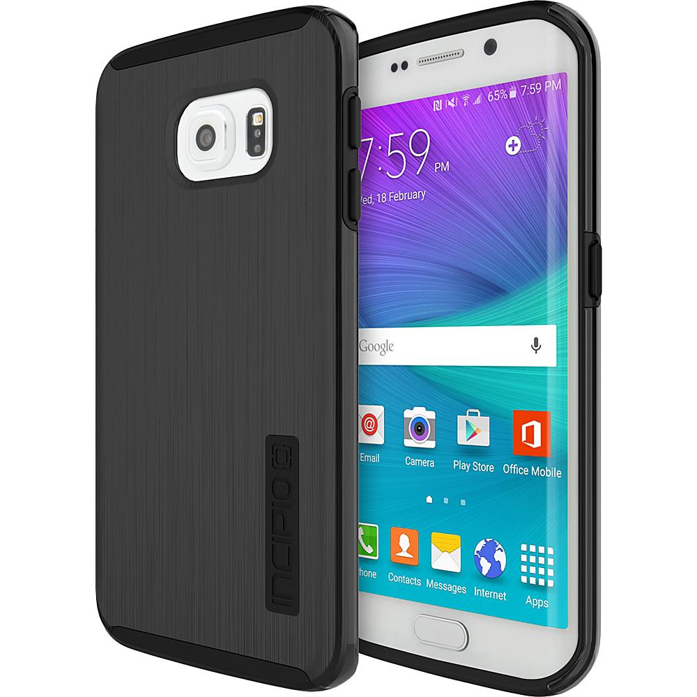 Incipio DualPro SHINE for Samsung Galaxy S6 Edge Black/Black - Incipio Electronic Cases - Technology, Electronic Cases