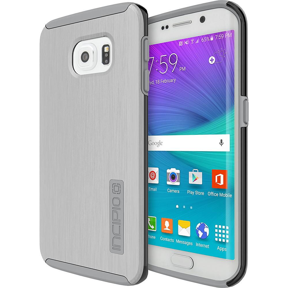 Incipio DualPro SHINE for Samsung Galaxy S6 Edge Silver/Smoke - Incipio Electronic Cases - Technology, Electronic Cases