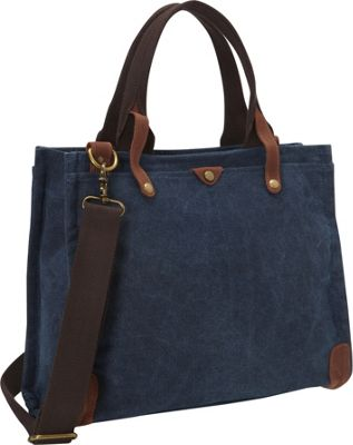 Laurex Canvas 13 inch Laptop Tote Bag Navy - Laurex Other Men's Bags