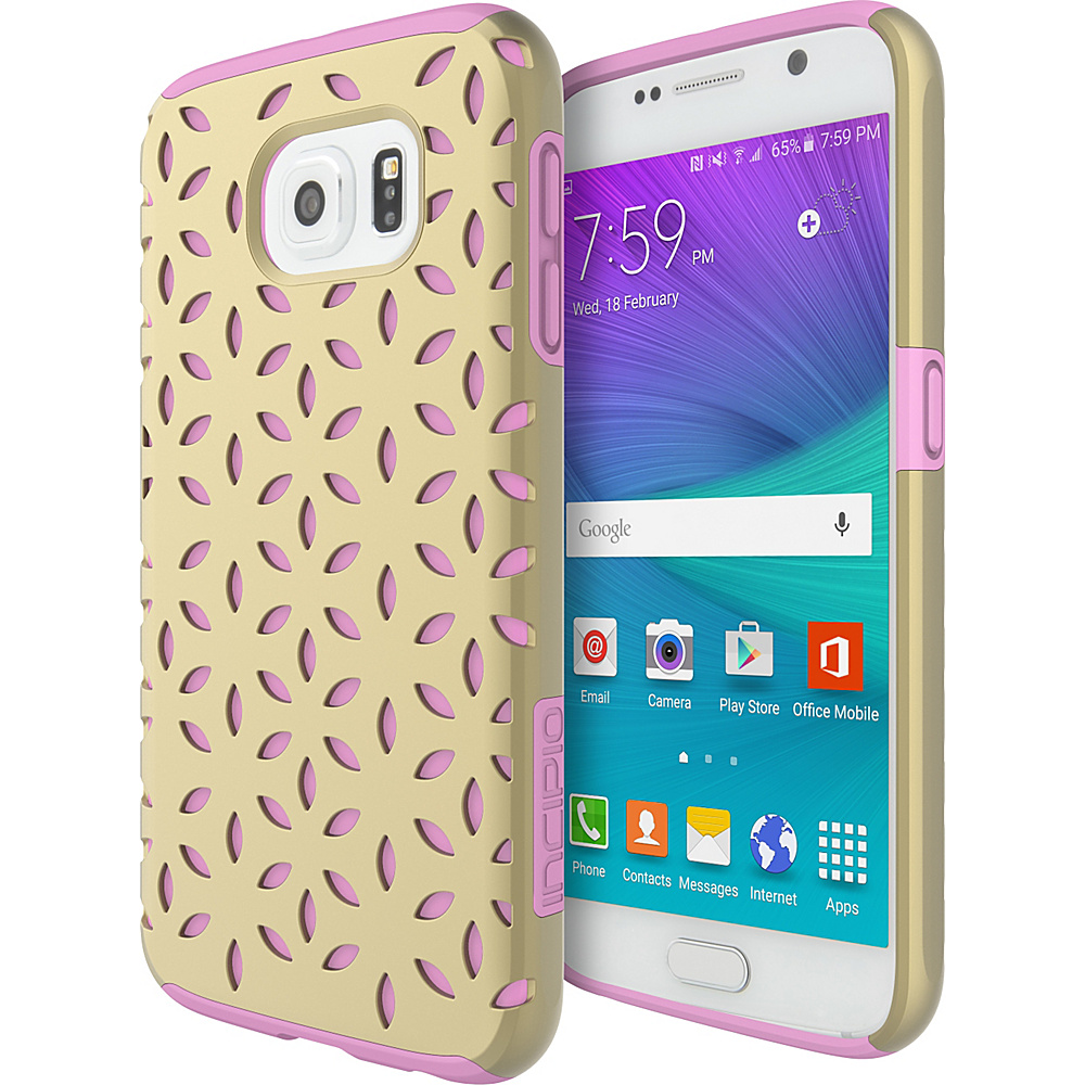 Incipio DualPro Detail for Samsung Galaxy S6 Gold/Pink - Incipio Electronic Cases - Technology, Electronic Cases