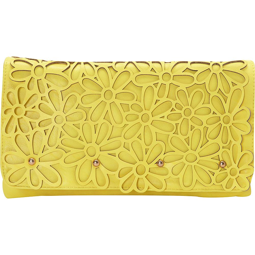 Melie Bianco Marie Clutch Sunflower - Melie Bianco Manmade Handbags