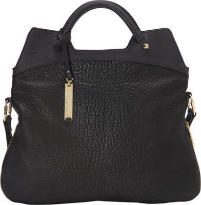 Vince Camuto Dulce Crossbody - Lizard Black/Black - Vince Camuto Designer Handbags
