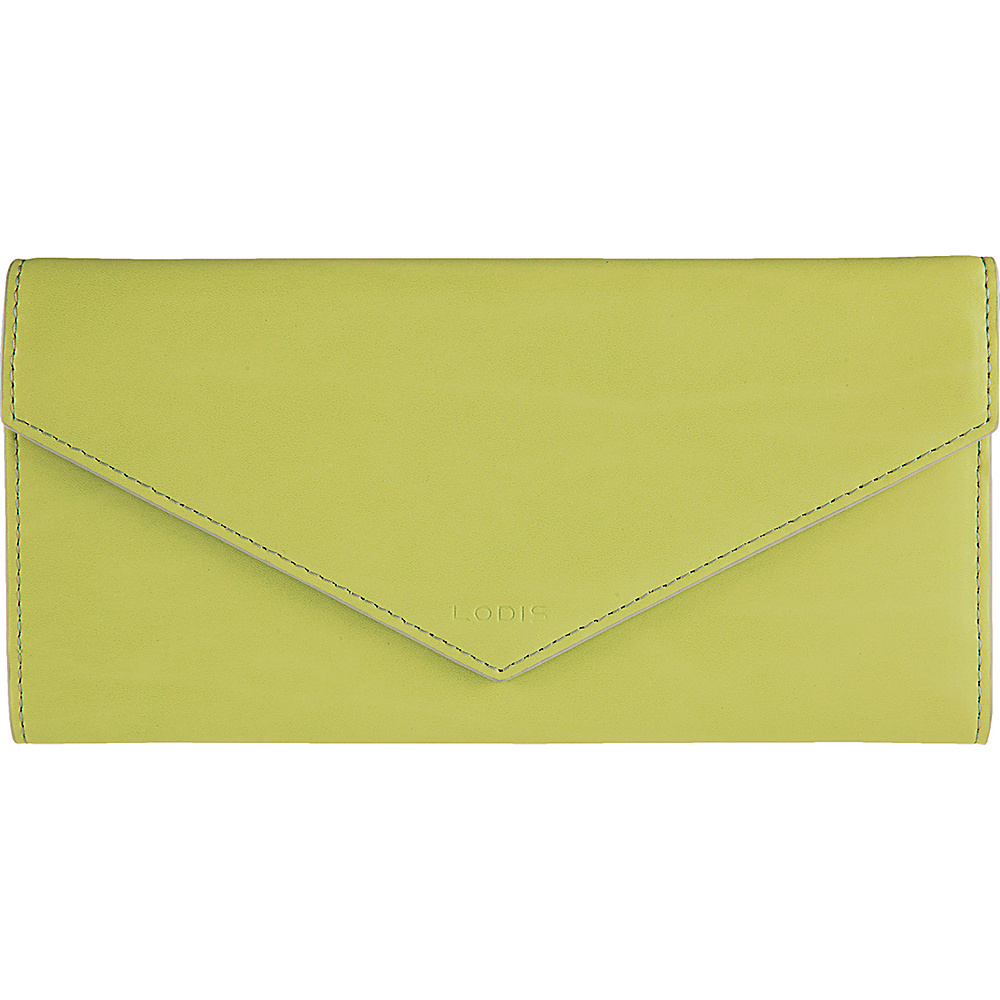 Lodis Audrey Alix Trifold Lime/Dove - Lodis Womens Wallets - Women's SLG, Women's Wallets