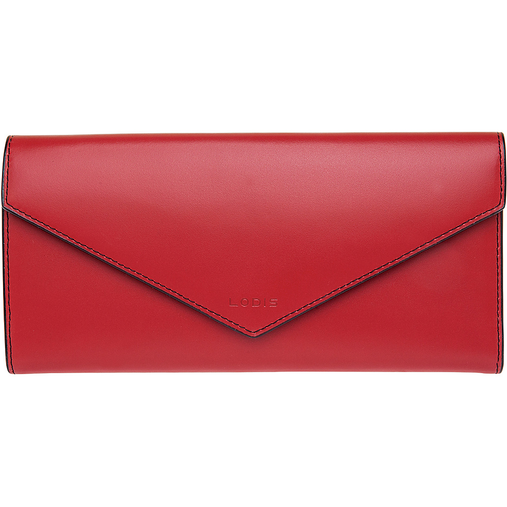 Lodis Audrey Alix Trifold Red Lodis Women s Wallets