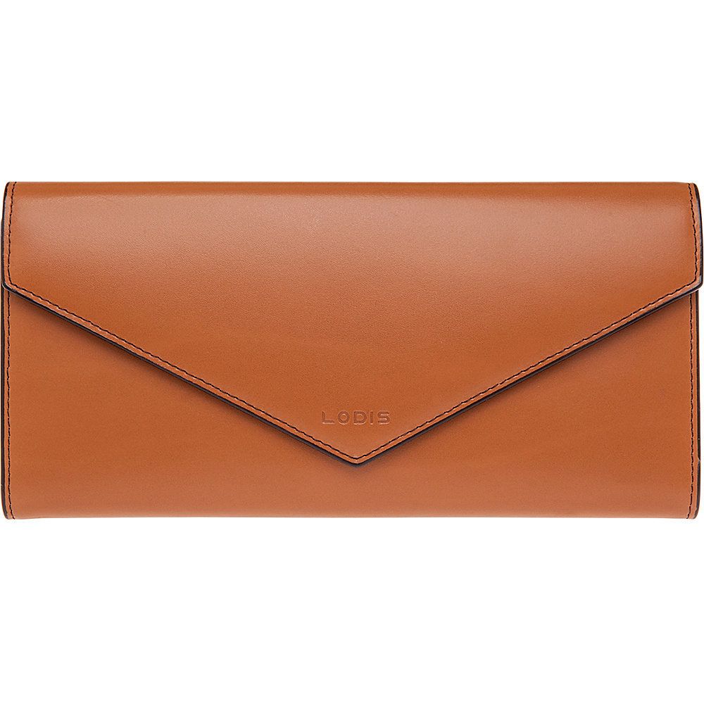 Lodis Audrey Alix Trifold Toffee Chocolate Lodis Women s Wallets