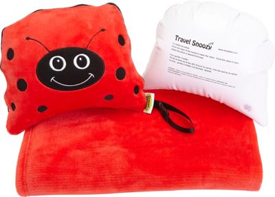 TrendyKid Travel Snoozy Lady Bug - TrendyKid Travel Pillows & Blankets