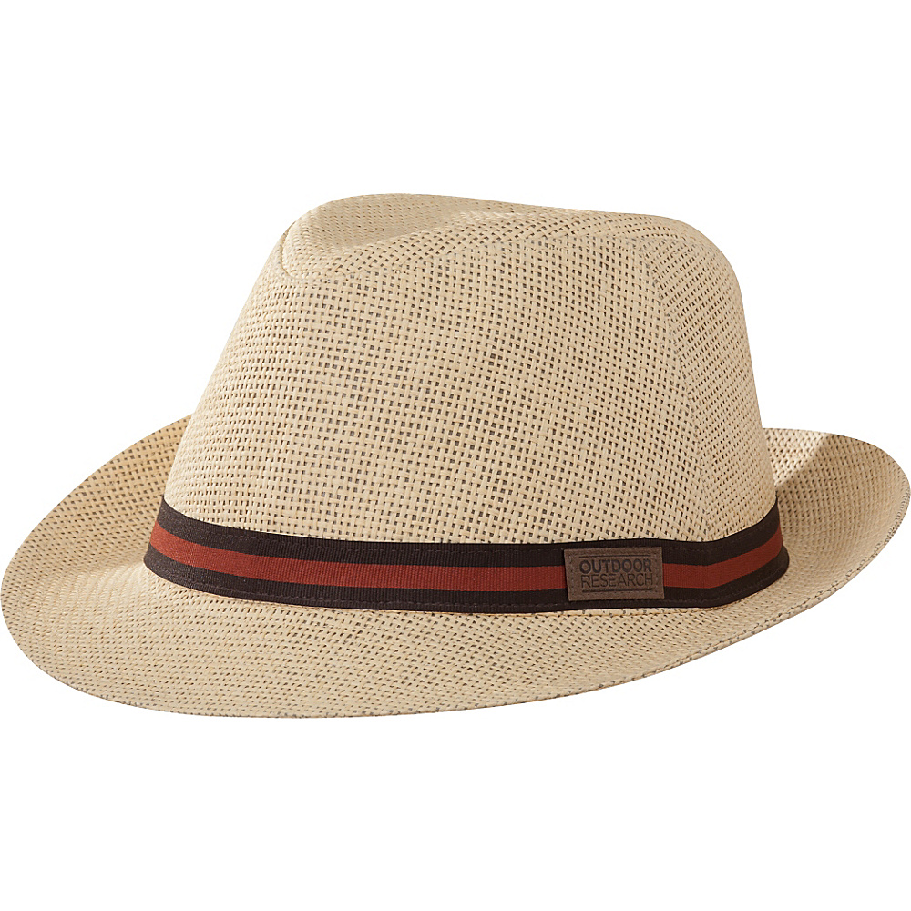 Outdoor Research Santiago Fedora XL - Straw - Outdoor Research Hats/Gloves/Scarves - Fashion Accessories, Hats/Gloves/Scarves