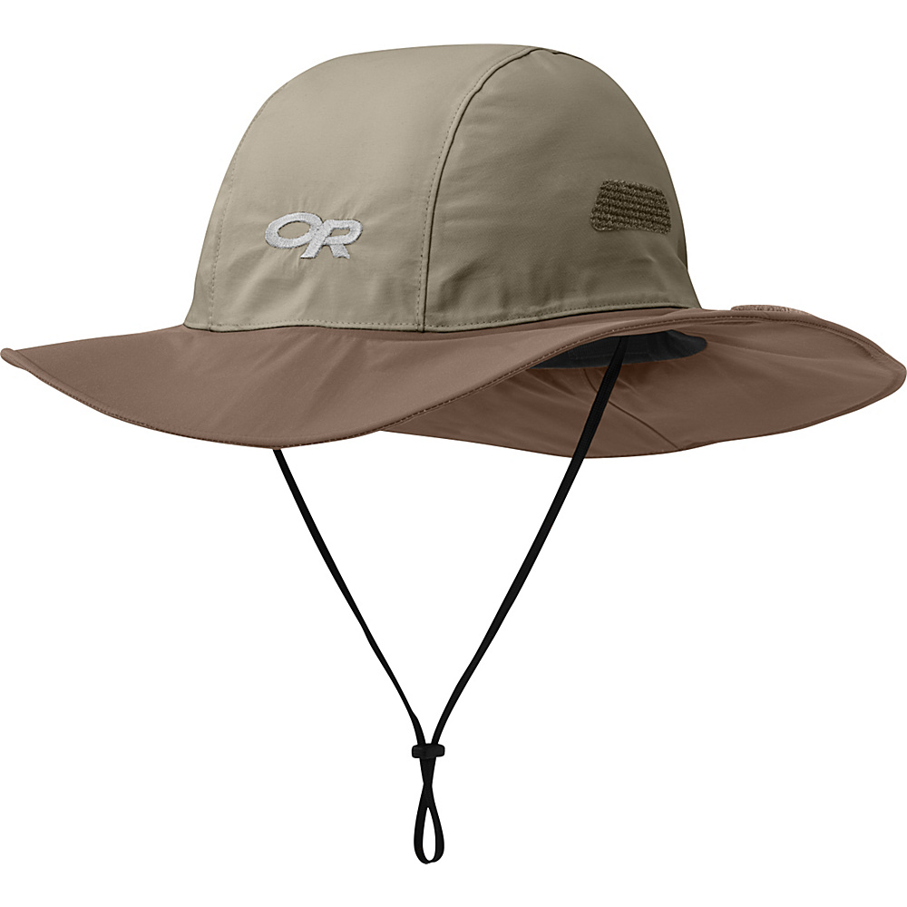 Outdoor Research Seattle Sombrero XL - Khaki/Java - Large - Outdoor Research Hats/Gloves/Scarves - Fashion Accessories, Hats/Gloves/Scarves