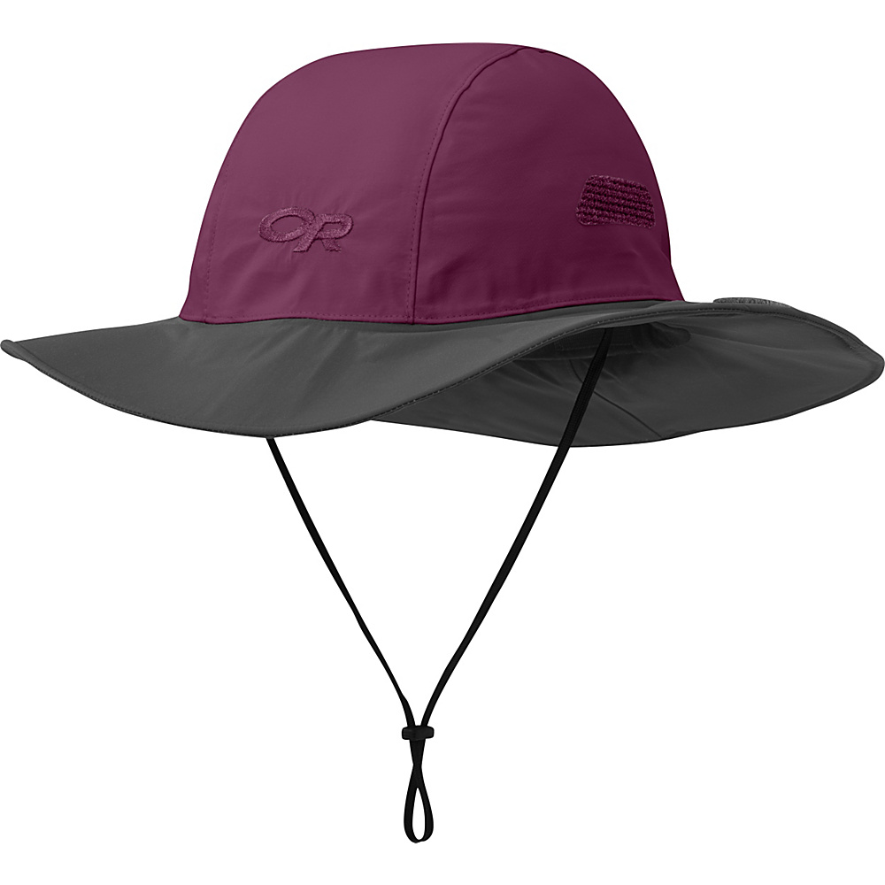 Outdoor Research Seattle Sombrero S - Orchid/Dark Grey - Large - Outdoor Research Hats/Gloves/Scarves - Fashion Accessories, Hats/Gloves/Scarves