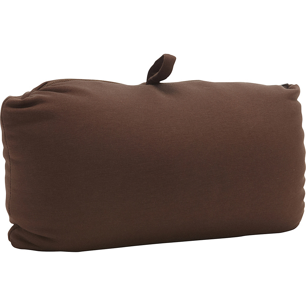 Hartmann Luggage Convertible Pillow Brown Hartmann Luggage Travel Pillows Blankets