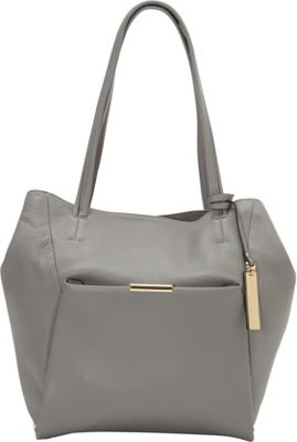 Vince Camuto Shane Tote Frost Gray - Vince Camuto Designer Handbags