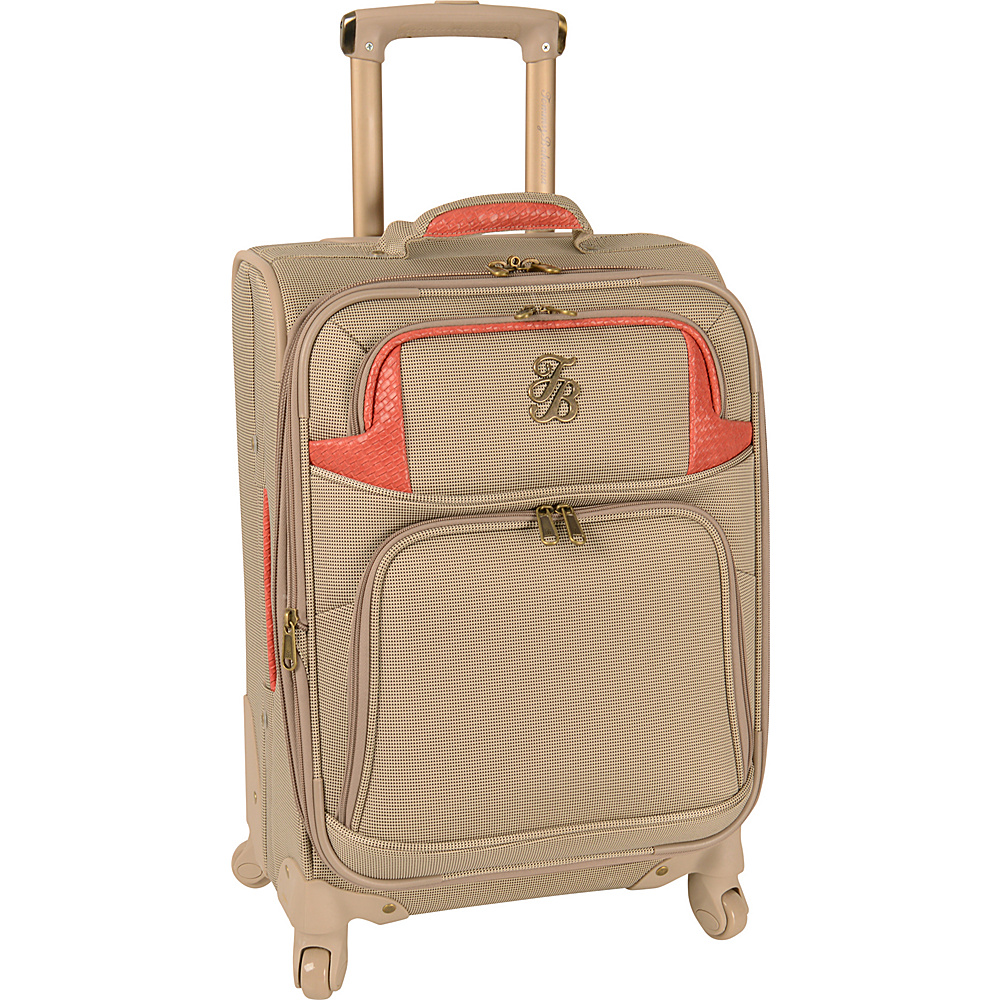 Tommy Bahama Belle of the Beach 20 Expandable Spinner Champagne Coral Tommy Bahama Softside Carry On