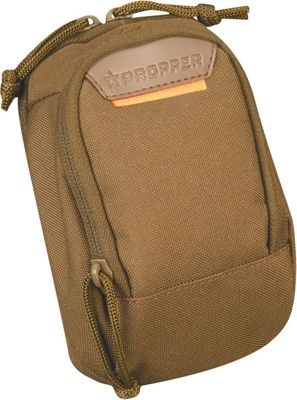 Propper Two Pocket Media Pouch with MOLLE Coyote - Propper Camera Accessories