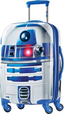 American Tourister Star Wars All Ages 21 inch Carry-On Spinner R2D2 - American Tourister Hardside Carry-On