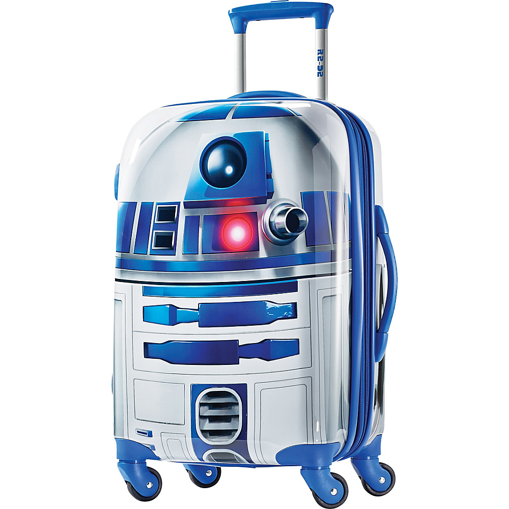 American Tourister Star Wars All Ages 21 Carry On Spinner R2D2 American Tourister Hardside Carry On