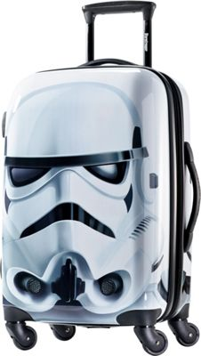 American Tourister Star Wars All Ages 21 inch Carry-On Spinner Storm Trooper - American Tourister Hardside Carry-On