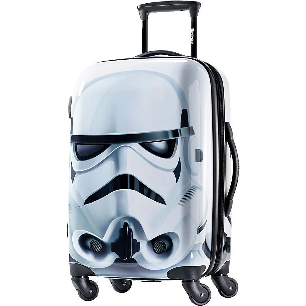 "American Tourister Star Wars All Ages 21"" Carry-On Spinner Storm Trooper - American Tourister Hardside Carry-On"