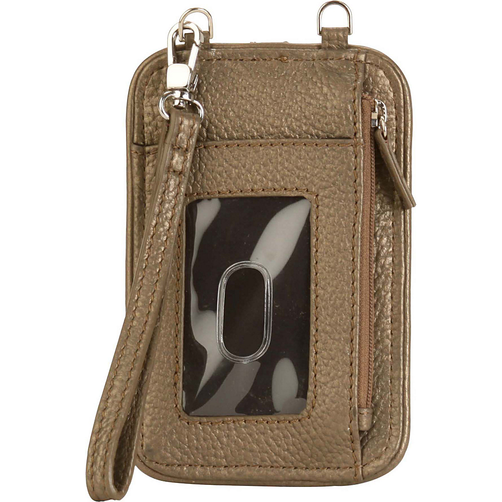 Hadaki Essentials Wristlet Bronze - Hadaki Womens Wallets - Women's SLG, Women's Wallets