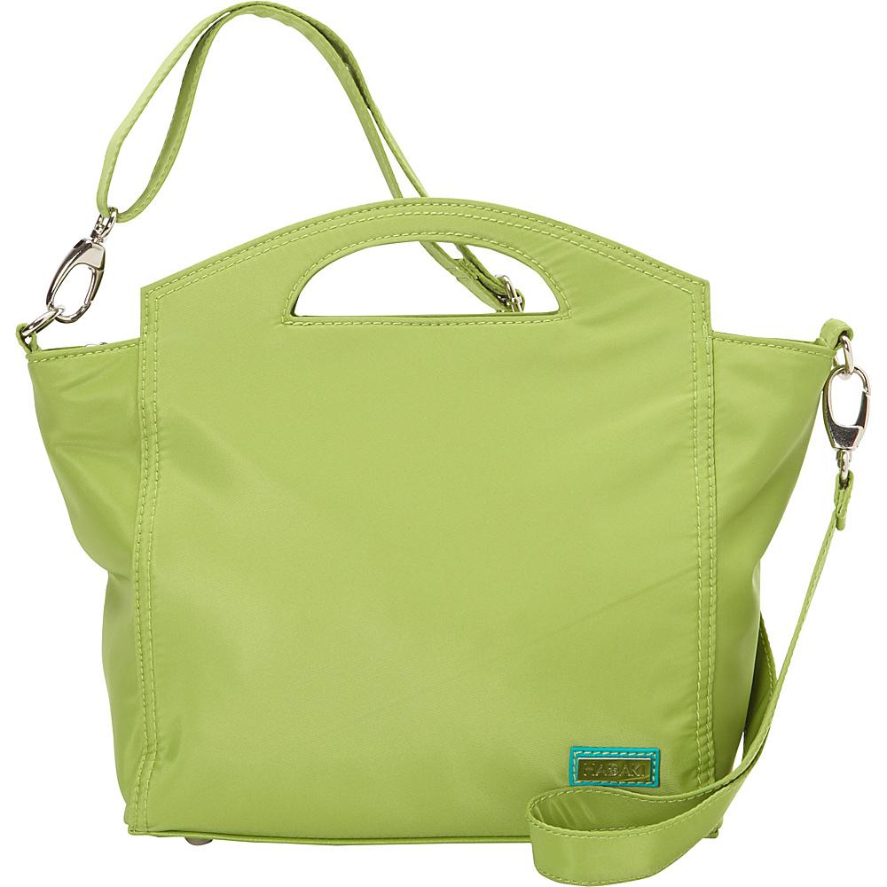 Hadaki Hand Tote Piquat Green - Hadaki Fabric Handbags - Handbags, Fabric Handbags