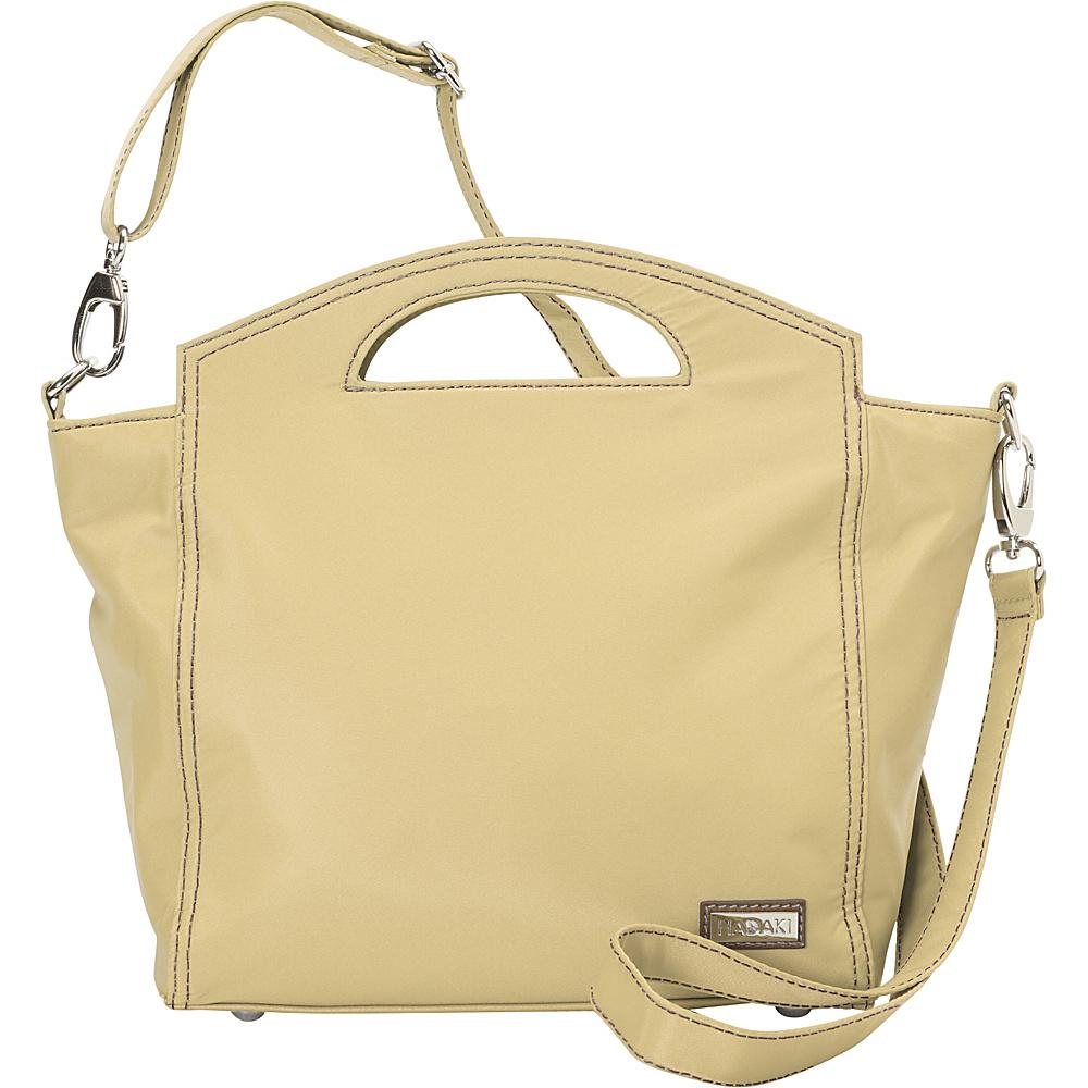 Hadaki Hand Tote Semolina - Hadaki Fabric Handbags - Handbags, Fabric Handbags