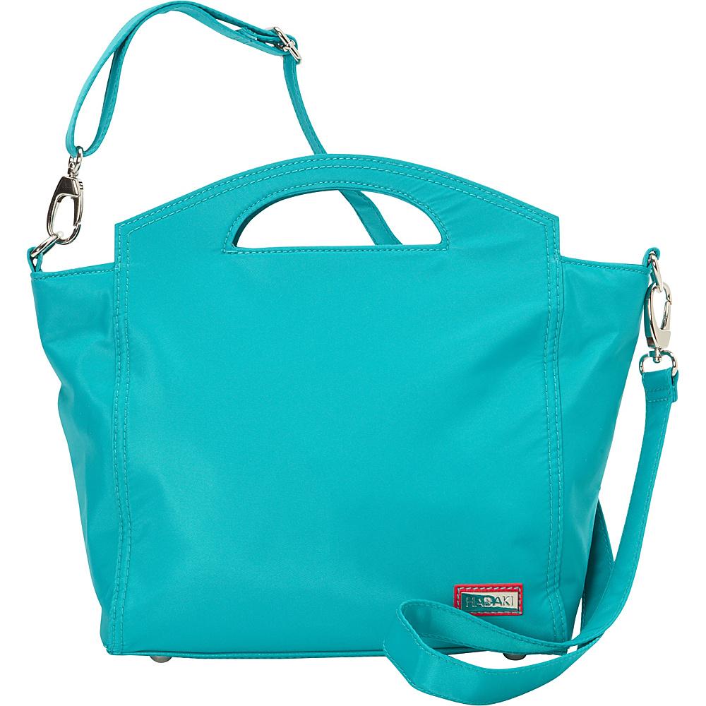 Hadaki Hand Tote Viridian Green - Hadaki Fabric Handbags - Handbags, Fabric Handbags