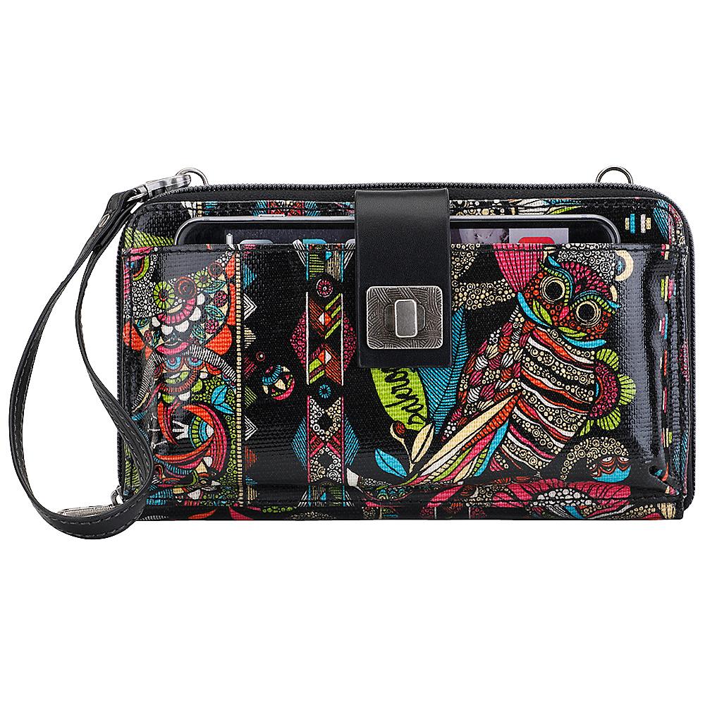 Sakroots Artist Circle Large Smartphone Crossbody Neon Spirit Desert - Sakroots Fabric Handbags - Handbags, Fabric Handbags
