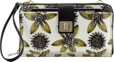 Sakroots Artist Circle Large Smartphone Crossbody Sunshine Sun Desert - Sakroots Fabric Handbags