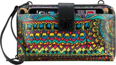 Sakroots Artist Circle Large Smartphone Crossbody Radiant One World - Sakroots Fabric Handbags