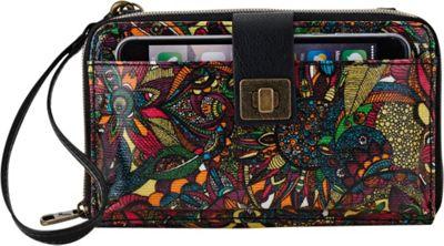 Sakroots Artist Circle Large Smartphone Crossbody Rainbow Spirit Desert - Sakroots Fabric Handbags