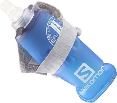 Salomon S-Lab Sense Glove Hydro Set Alluminum - Medium - Salomon Hydration Packs and Bottles