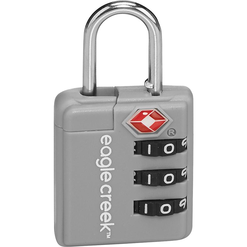 Eagle Creek Ultra light TSA Lock Silver - Eagle Creek Luggage Accessories