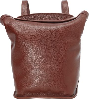 Leatherbay Leatherbay Roma Small Backpack Handbag Dark Brown - Leatherbay Leather Handbags