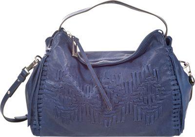 Sanctuary Handbags SouthWest E/W Satchel Deep See Blue - Sanctuary Handbags Designer Handbags