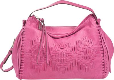 Sanctuary Handbags SouthWest E/W Satchel Magenta - Sanctuary Handbags Designer Handbags