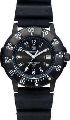 Smith & Wesson Watches Sport Swiss Tritium Watch Nylon Straps Black - Smith & Wesson Watches Watches