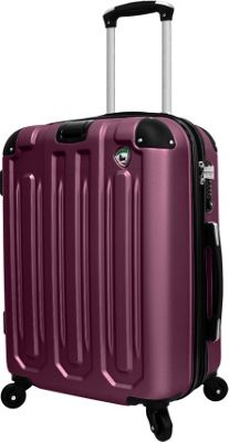 Mia Toro ITALY Regale Composite 20 inch Hardside Spinner Carry-On Burgundy - Mia Toro ITALY Hardside Carry-On