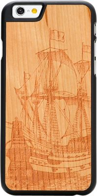 Carved Wood Phone Case for iPhone 6/6s Galleon Engraved Cherry - Carved Personal Electronic Cases