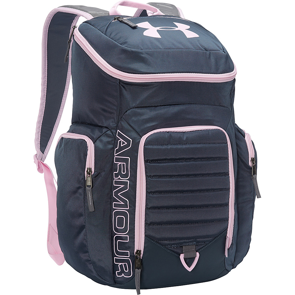d933f21564 ... UPC 888376408046 product image for Under Armour Undeniable Backpack II  Mechanic Blue Graphite Pink ...