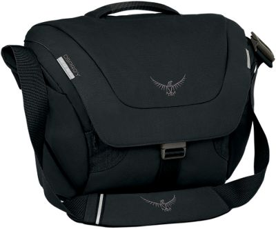 Osprey FlapJack Courier Black- DISCONTINUED - Osprey Messenger Bags