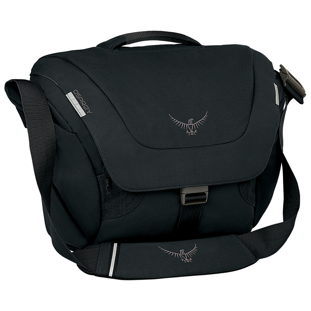 Osprey FlapJack Courier Black- DISCONTINUED - Osprey Messenger Bags - Work Bags & Briefcases, Messenger Bags