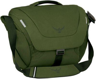 Osprey FlapJack Courier Peat Green - Osprey Messenger Bags